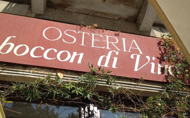 Osteria Boccon di Vino, Verbania